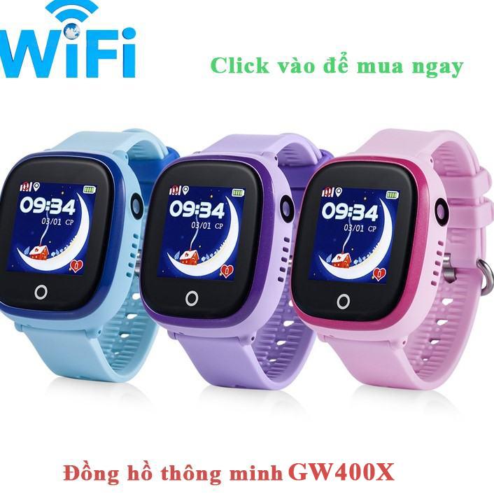 Dong ho thong minh gw400x WiFi Wonlex