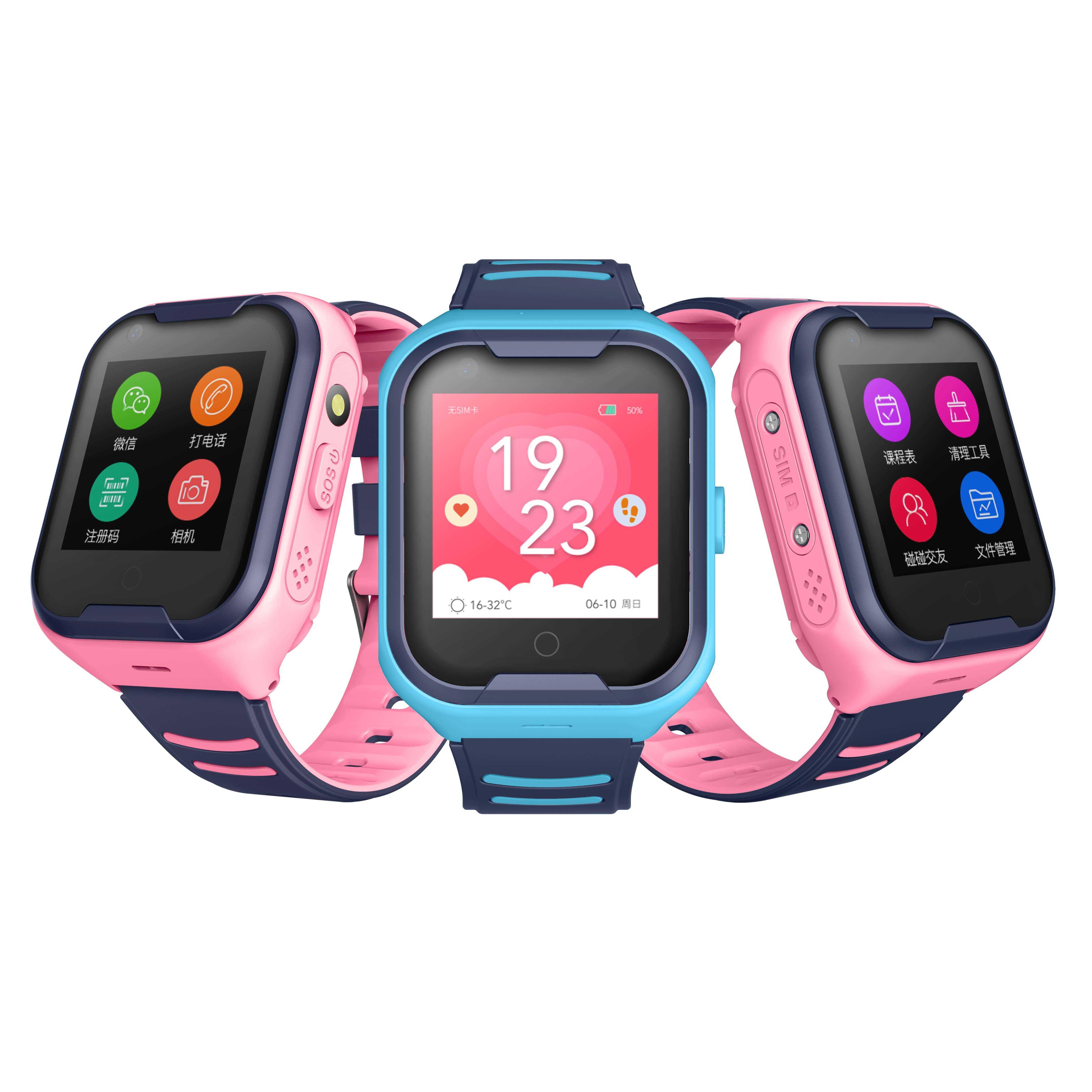 Đồng hồ thông minh trẻ em định vị GPS gọi Video Call4Gchịu nước IP67 Wonlex KT11