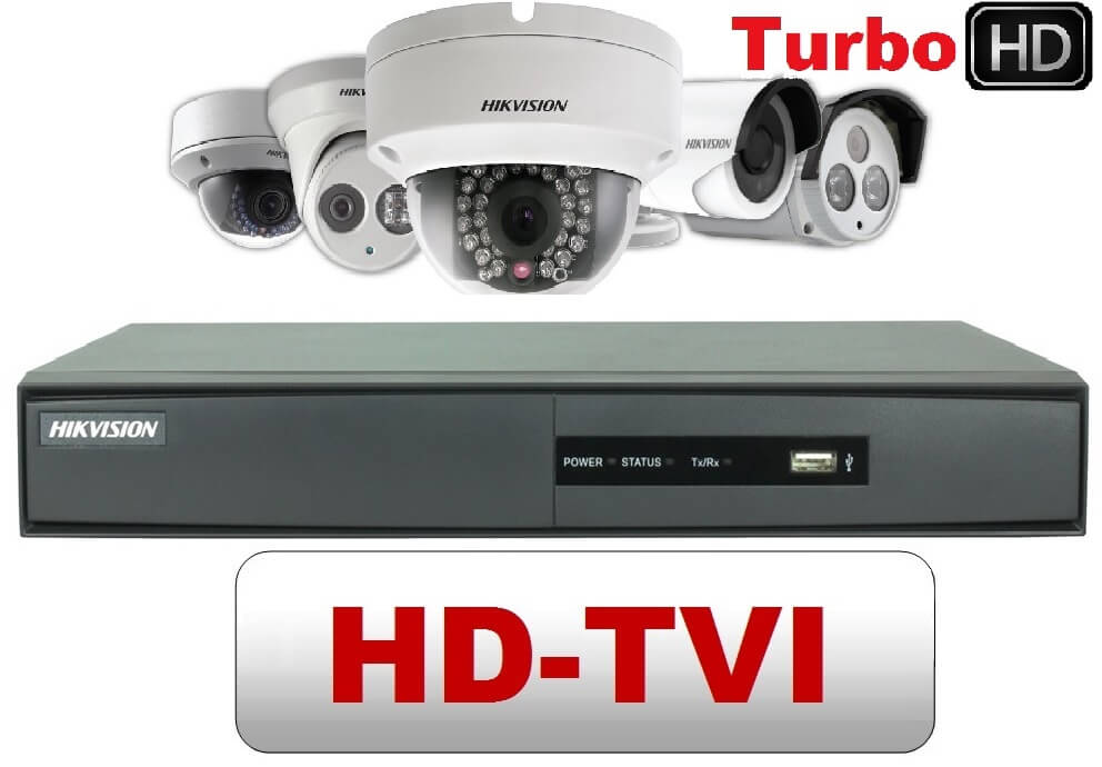 So sánh giữa camera IPvà camera HD TVI CCTV