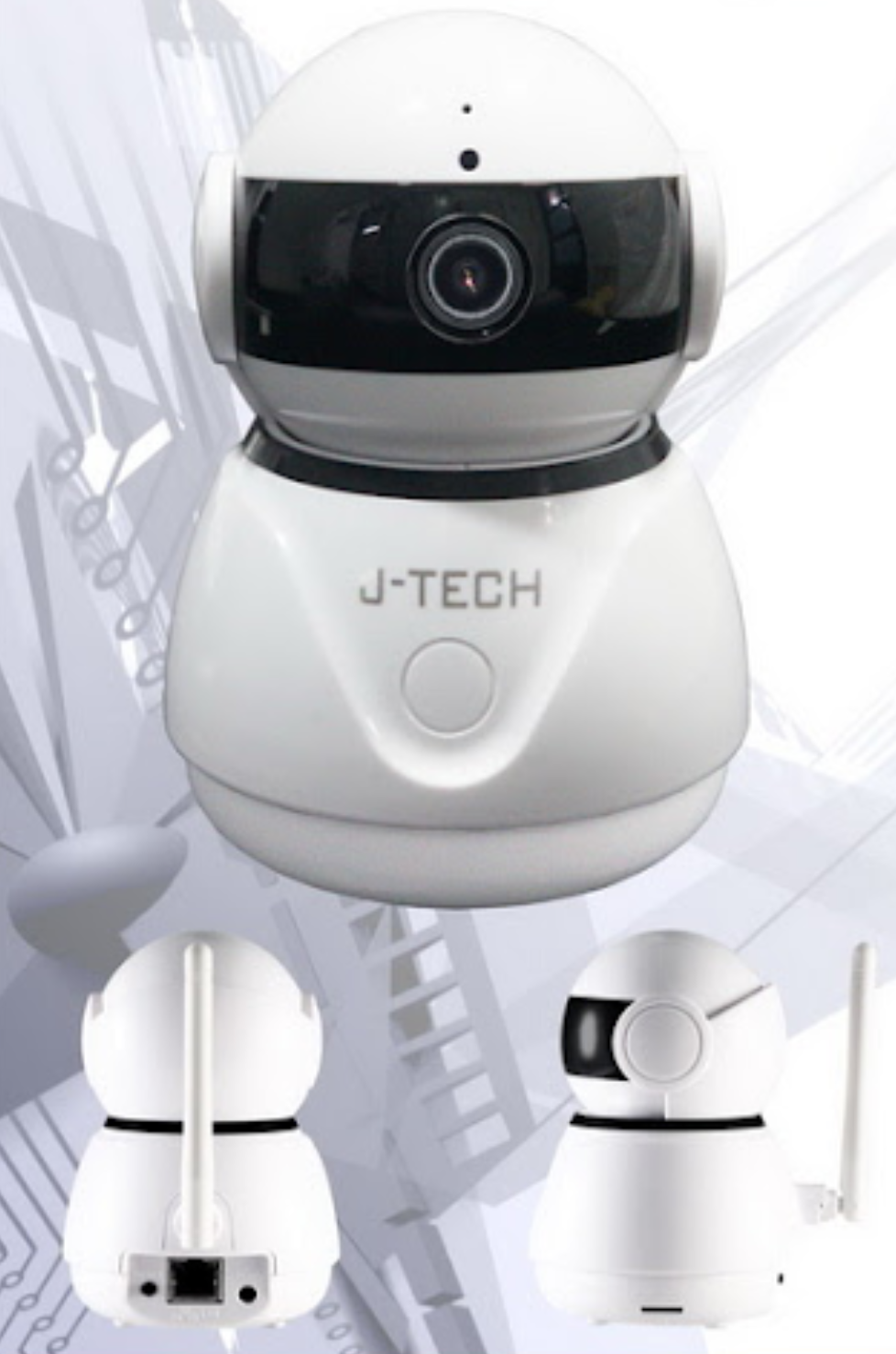 Camera wifi full HD 2MP J-Tech